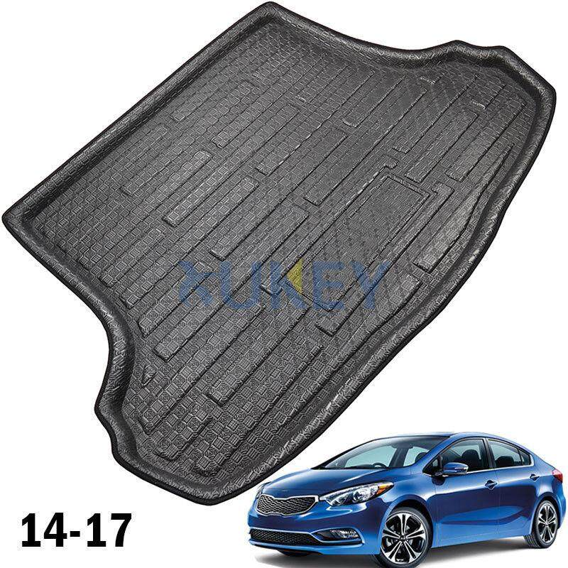 Rear Cargo Trunk Boot Mat Liner Floor Tray For Kia Forte K3 Cerato Sedan 2014-17 By Glimmer.