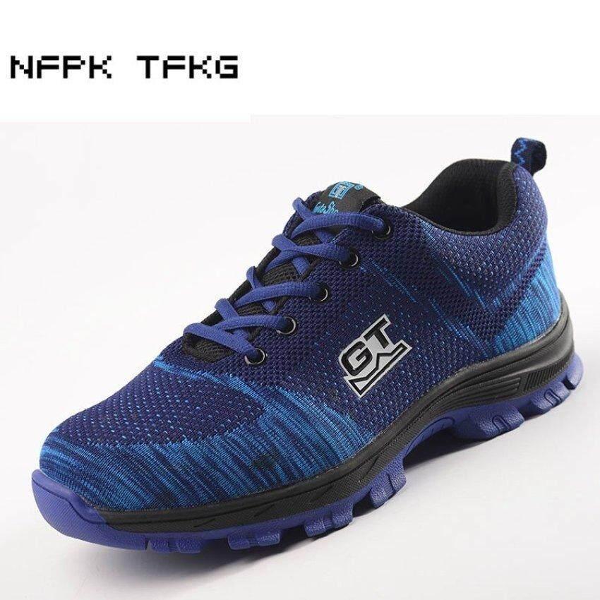 Zowie (Ukuran: EU38-46) Keamanan Pria Sepatu Mendaki Sepatu Kerja Comp Sepatu