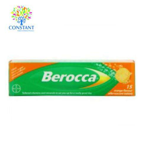 Berocca Effervescent Orange 15's [ Ready Stock ]