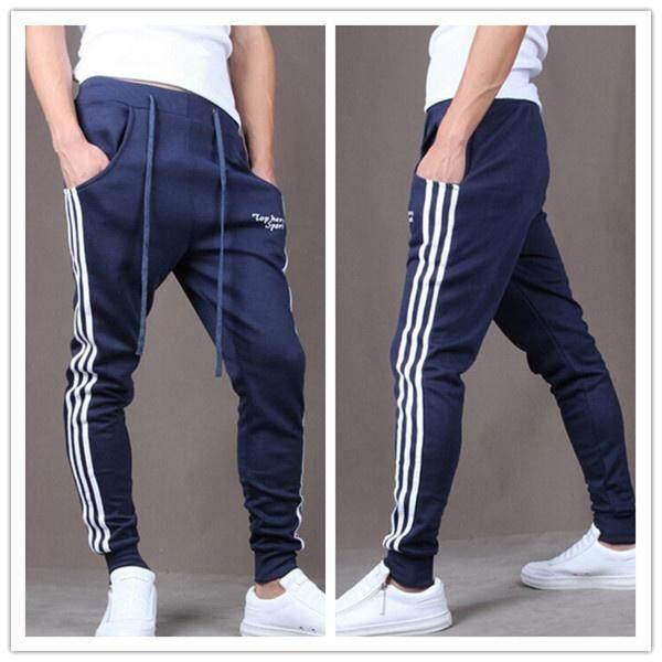 4af01a6859a Outdoors Cargo Loose Trousers Men Sweat Harem Sport Joggers Pants Hip Hop  Slim Fit Sweatpants for