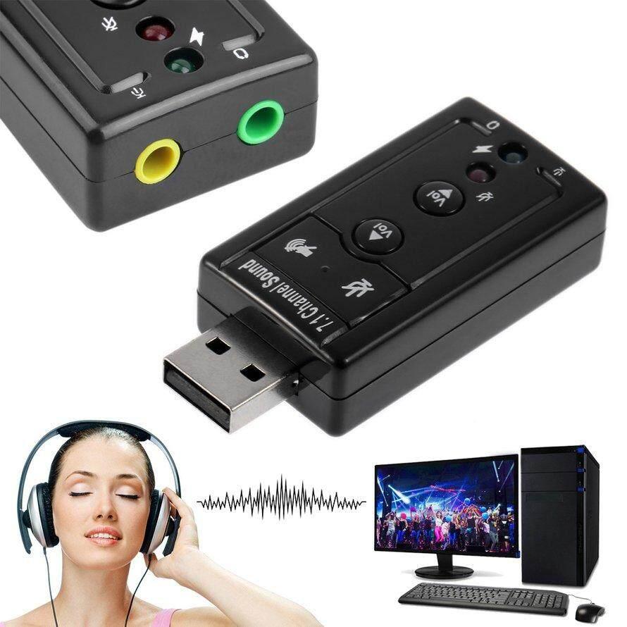 Allwin Mini Usb 20 3d Virtual 12mbps External 71 Channel Audio Sound Soundcard Card Cxxnel Osman 12 Mbps Eksternal Suara Kartu Adaptor
