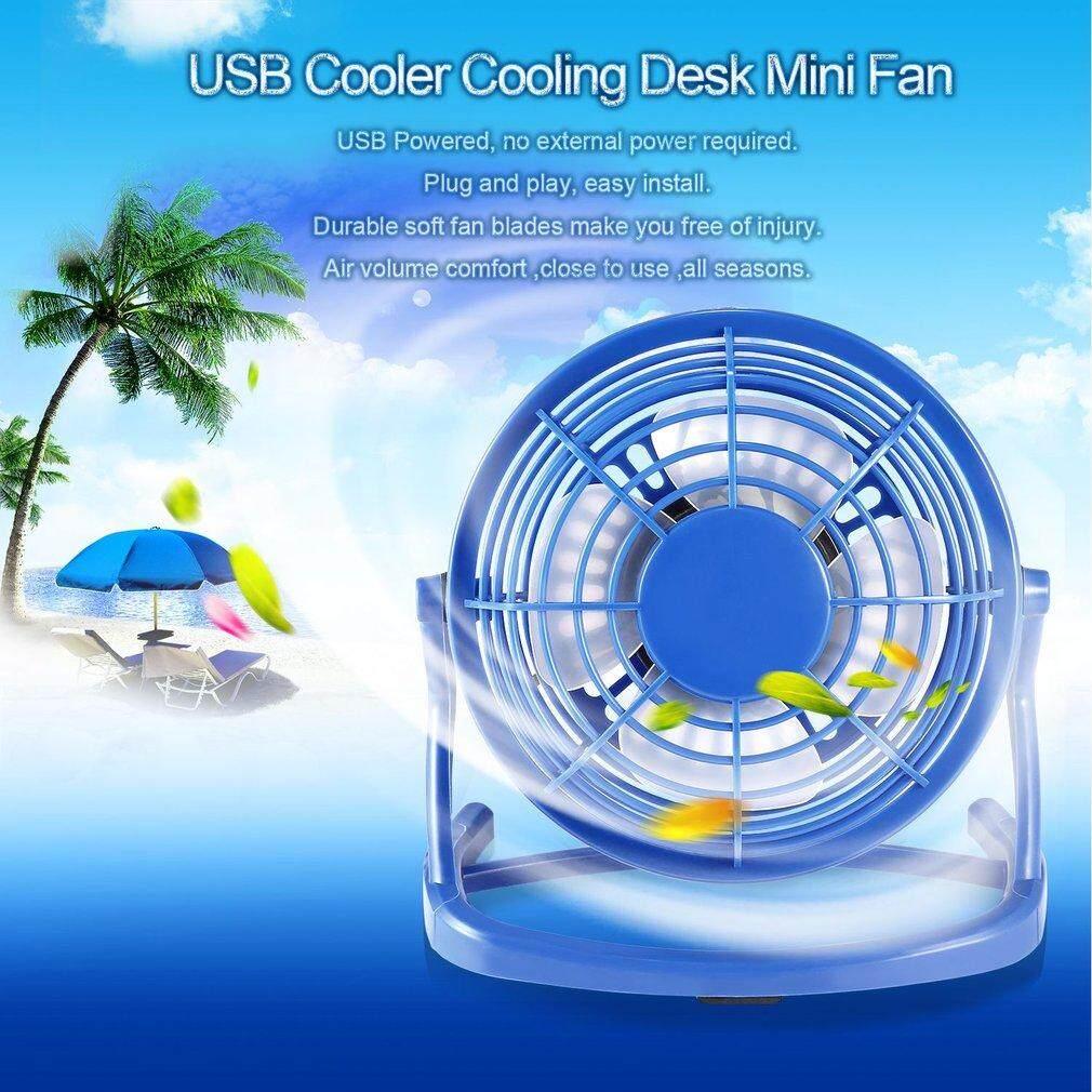 Hình ảnh Mini Size USB Fan Portable Super Mute PC USB Cooler Cooling Desk Mini Fan - intl