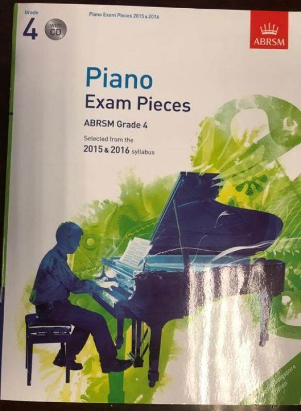 Piano Exam Pieces ABRSM Grade 4 (Selected From The 2015 & 2016 Syllabus) Malaysia