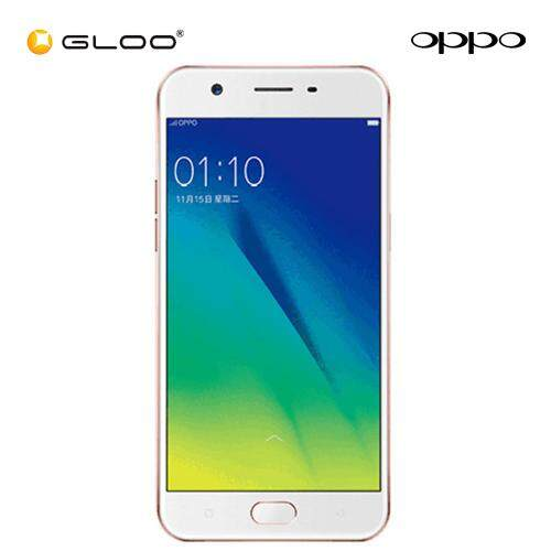 OPPO A57 Rose Gold - Unstoppable Selfies