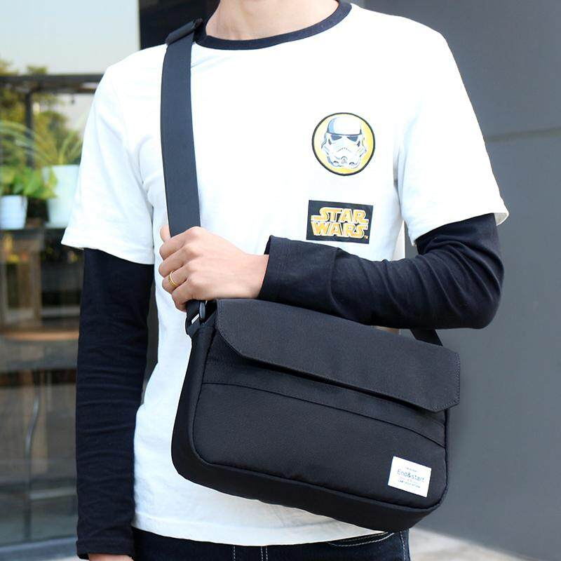 6bb4e1c5d33b Originality Popular Brand Students Simple Casual Sports Waterproof Messenger  bag bags Japanese-style Crossbody bag
