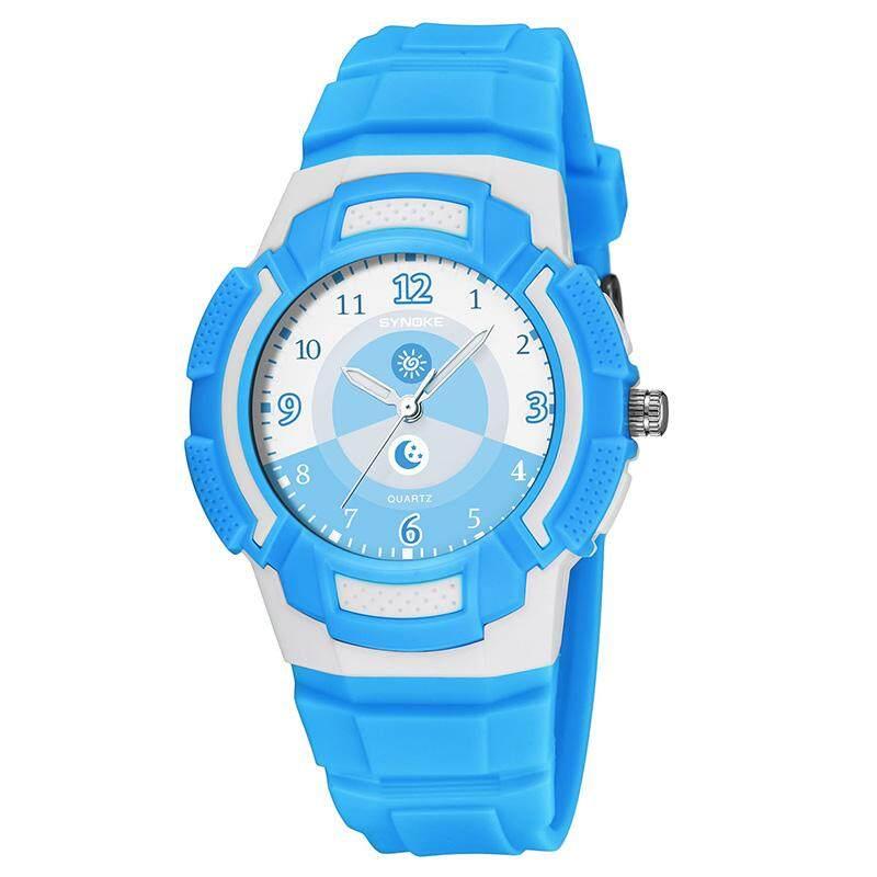 YBC Sports Watches Waterproof Quartz Wristwatch Multifunction Watch for Student Child Kids - intl