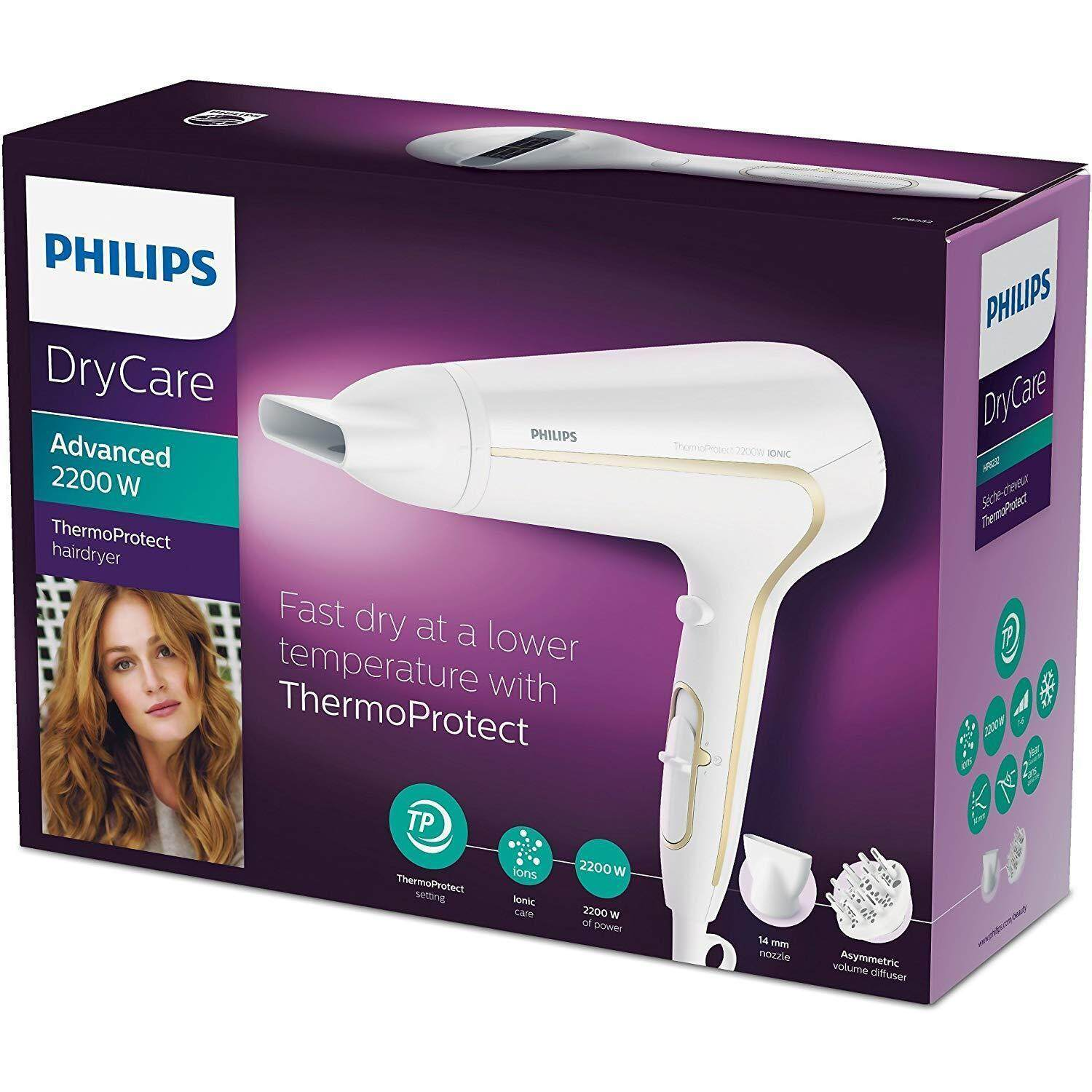 Promotions Catalogs Philips Bhd006 Essentialcare Hairdryer Hair Dryer Hp8108 Thermoprotect Hp8232 Drycare Advanced 2200 W 0