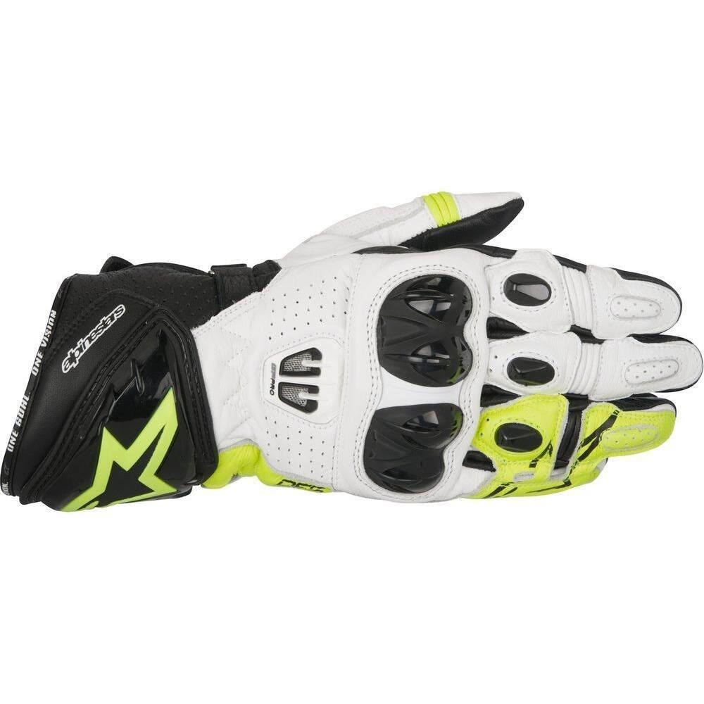 ALPINESTARS GP PRO R2 GLOVE (YELLOW/BLACK/WHITE) - [ORIGINAL]