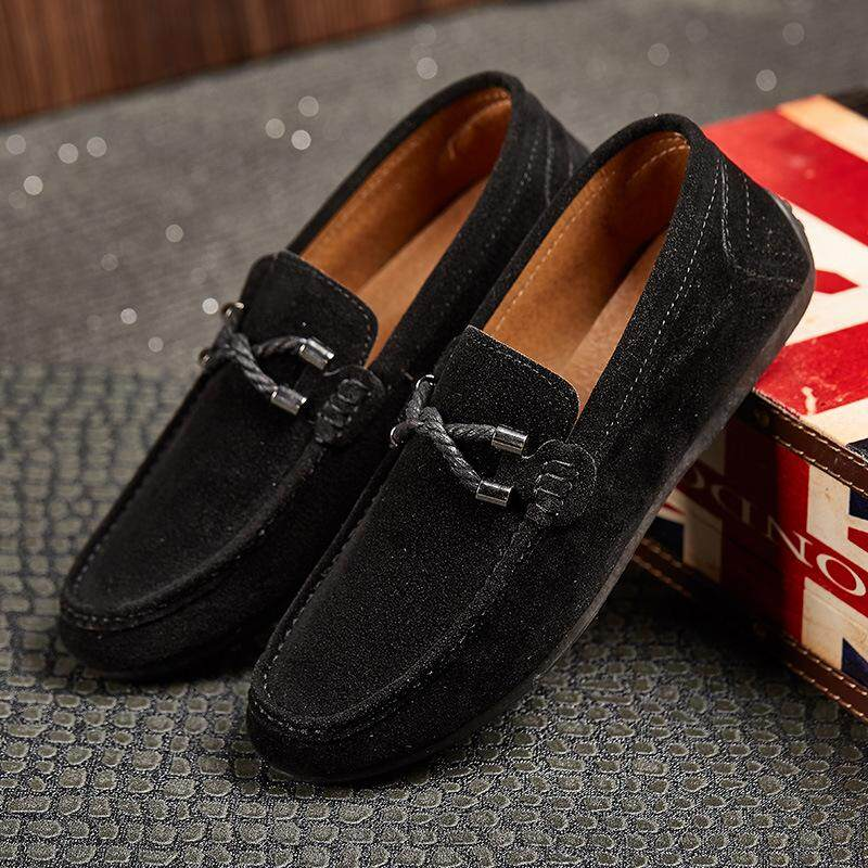 2018 New Men Flat Shoes Moccasins Men Loafers Peas Shoes Fashion Casual Shoes Breather Soft Mens