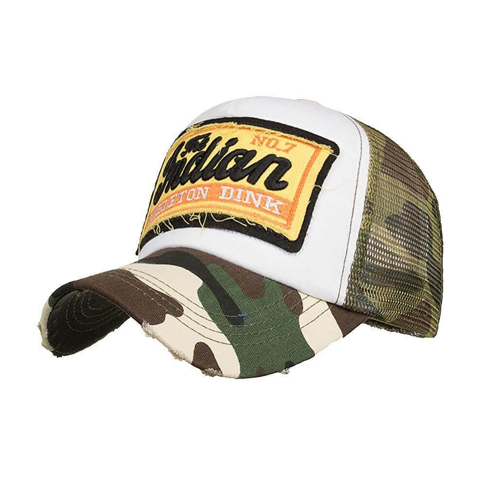 Coconie Bordir Topi Musim Panas Topi Jaring untuk Pria Wanita Kasual Topi  Hip Hop Topi Bisbol 8617658db4