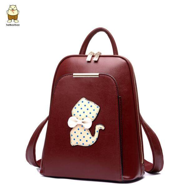 96dd5b9b48  red North bag new Korean version of the summer cute shoulder bag female  kitten
