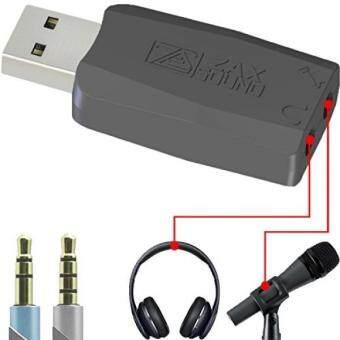 การส่งเสริม USB External Sound Card Windows, Mac, Raspberry Pi Linux