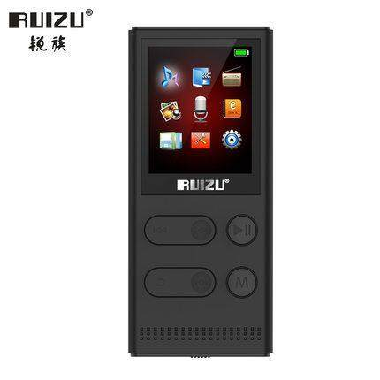 RUIZU X22 8G MP3 Player With Solar charging High Quality Portable Lossless Voice Recorder FM Radio Music Player Support 128G TF Card