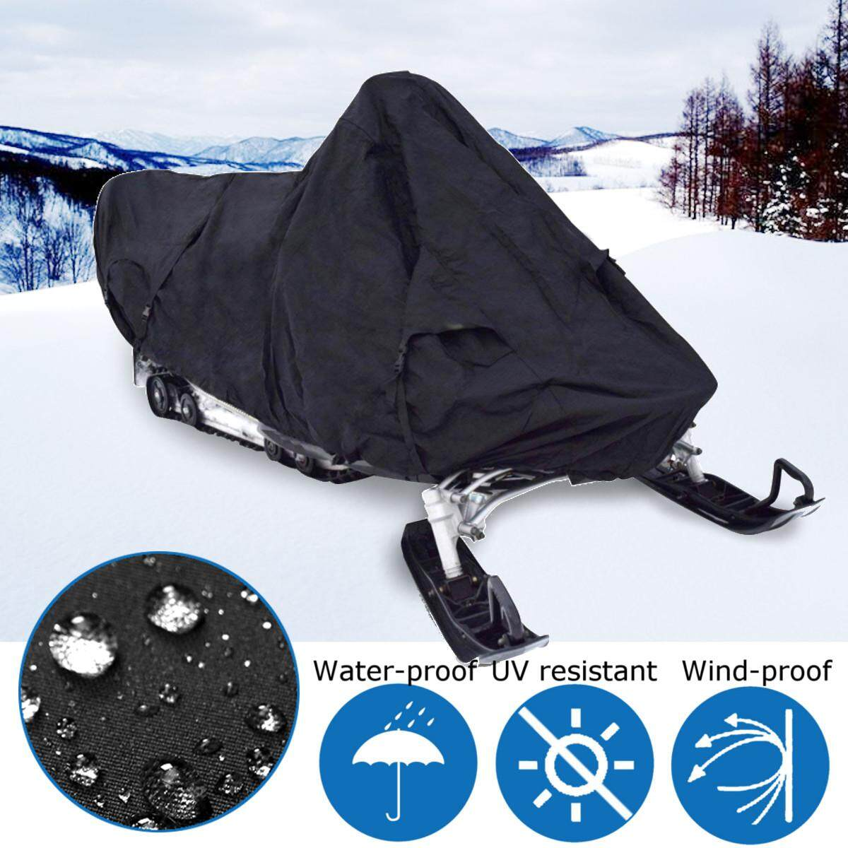 Budge Sportsman Trailerable Snowmobile Cover Fits Snowmobiles 130 Long X 51 Wide X 48 High, Sm-7 - Intl By Audew.