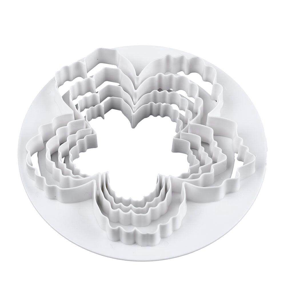 Easy Clean Cookie Mold Diy Practical Peony Petals Decorative Cake Cutter Durable By Lolife.