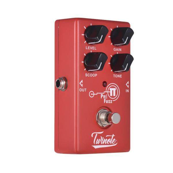 Twinote Pπ FUZZ Analog Modern Fuzz Guitar Effect Pedal Processsor Full Metal Shell with True Bypass