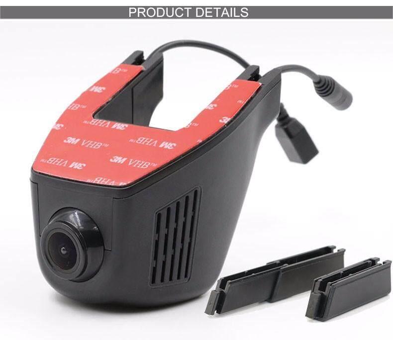 W20 Wireless Wifi ซ่อนกล้องติดรถยนต์ Dual เลนส์ Hd 1080 จุด - Intl By Wonderful U Store.