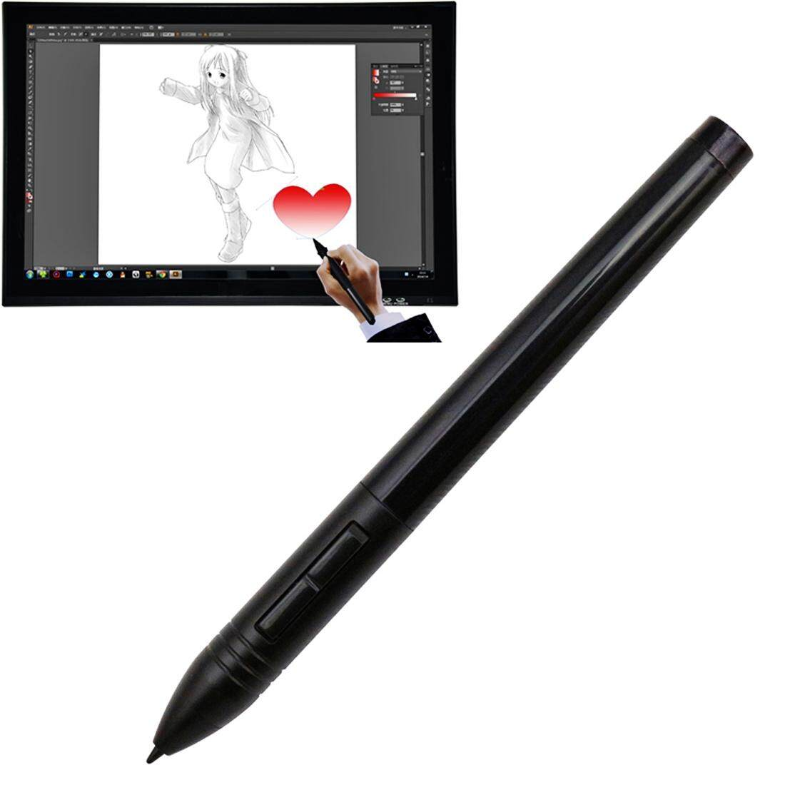 Hình ảnh Huion P80 Wireless USB Digital Pen Stylus Rechargeable Mouse Digitizer Pen for Huion Graphics Tablet(Black)