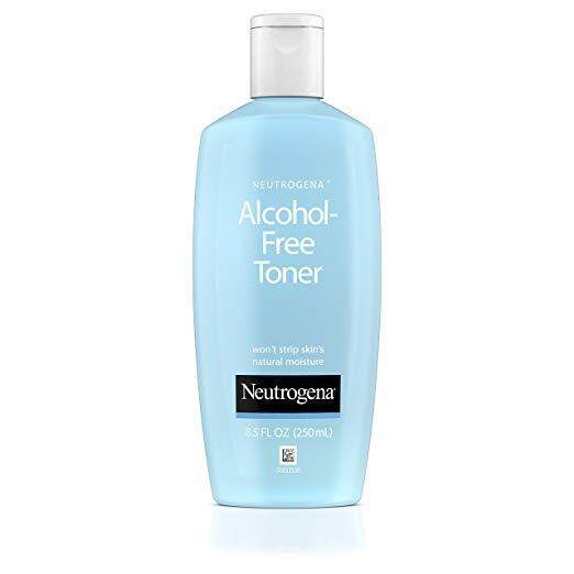 Neutrogena Oil-Free and Alcohol-Free Facial Toner, with Hypoallergenic Formula, 8.5 fl. oz