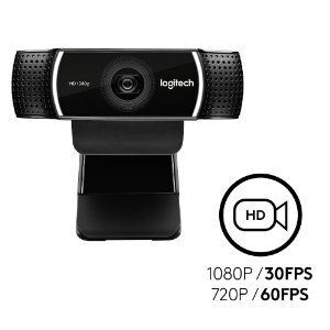 Logitech HD C922 Pro Stream Webcam Support PS4 PC Mac (960-001090)