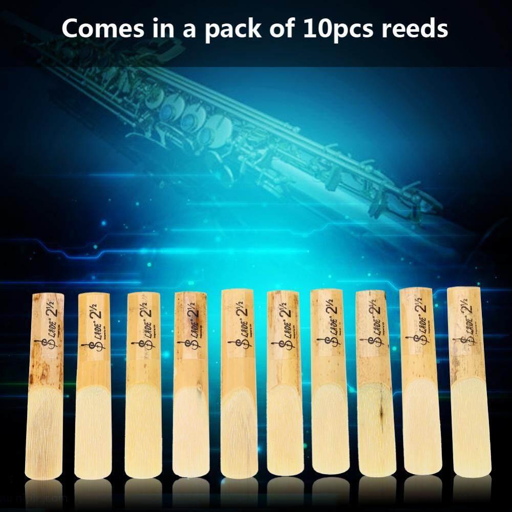 10 Pcs Plastik 2.5 Pipa Saksofon Sopran Reeds Perbaikan Perbaikan Suku Cadang Aksesori Rumput Gelagah-Intl By Rongshida.