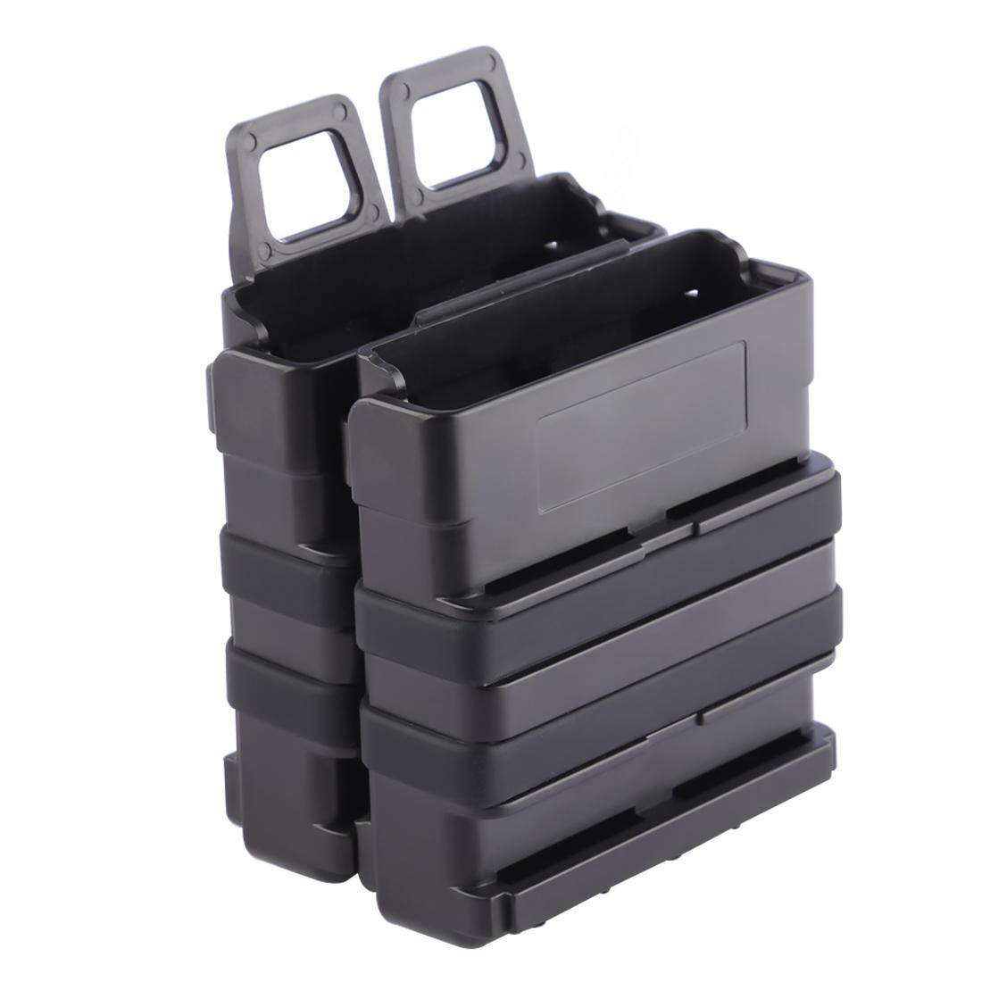 Hình ảnh 360WISH Magazine Clip Bullet Clip Holder Quick Pull Box for Nerf Tactics - Black