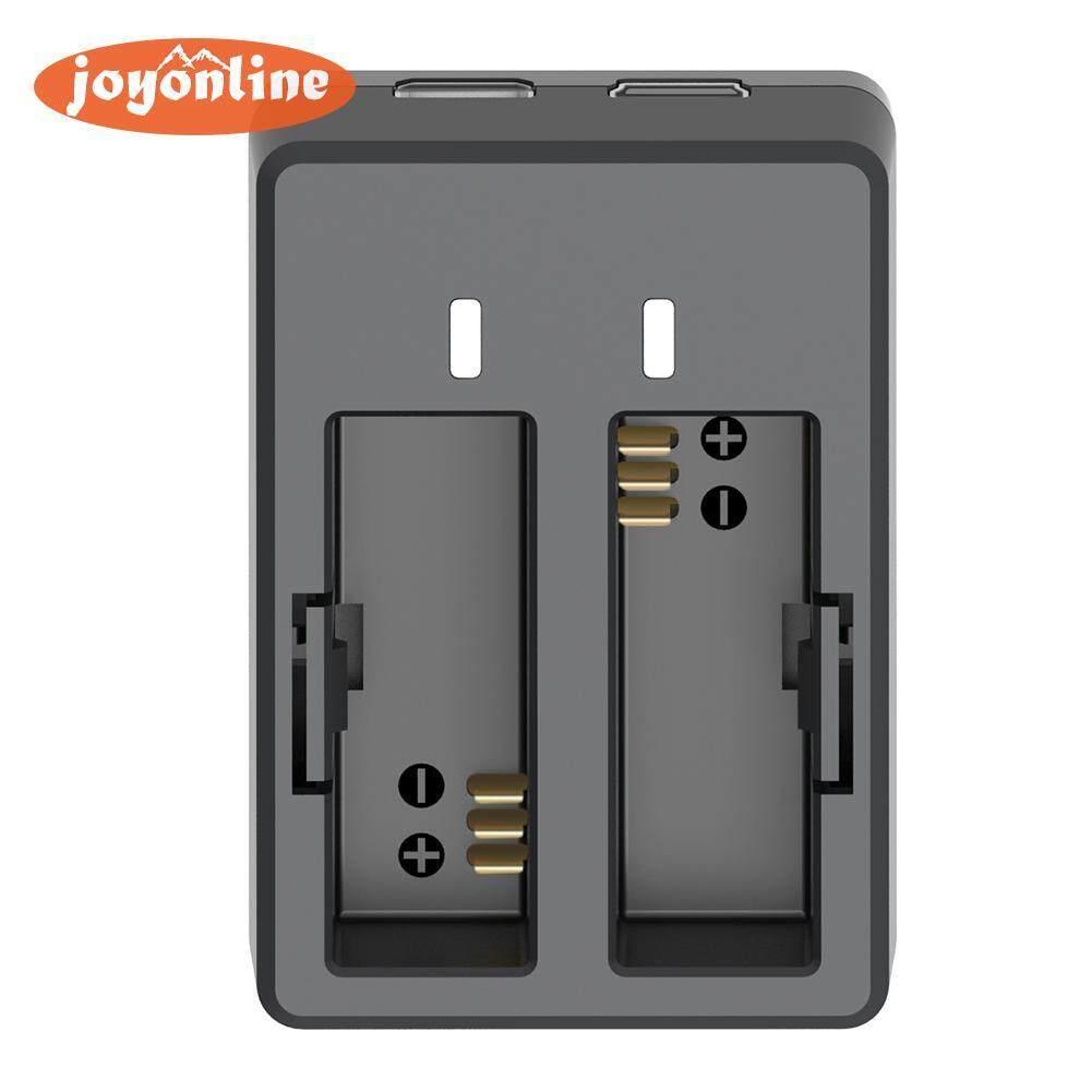 Baterai Dual USB Dok Pengisi Daya + Kabel USB untuk SJCAM SJ4000 SJ5000 M10 Camera-Intl