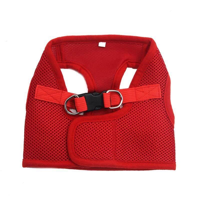L Lovoyager LVHA15002Soft Mesh Pet Dog Safety Leash Dog Harness Vest Adjustable Leash Collar For Dog
