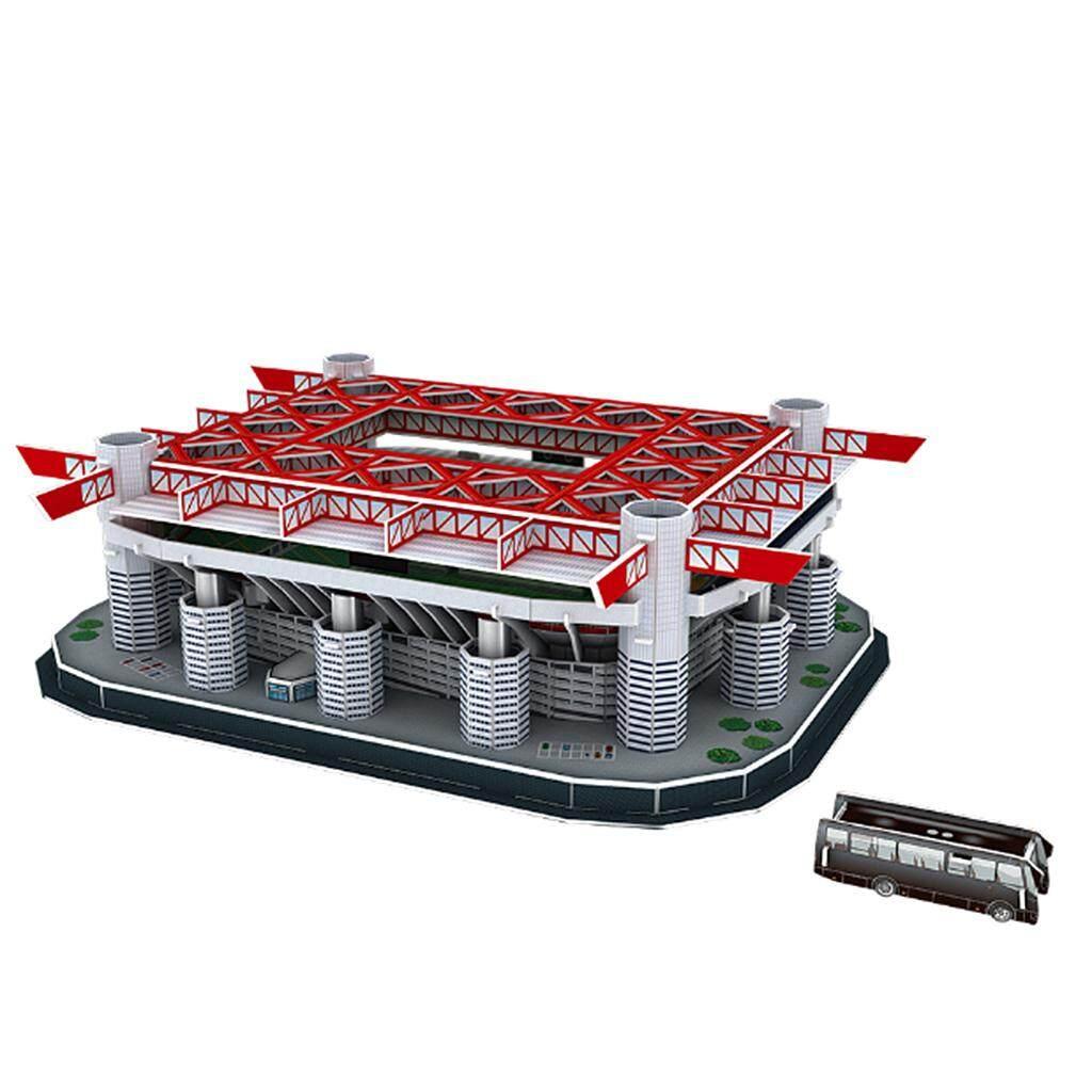 BolehDeals 3D Puzzle Different Countries Football Field Model San Siro Stadium