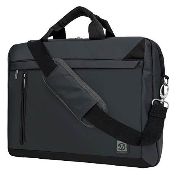 Laptop Messenger Bags Black Crossbody Mesenger Bag for Acer 15.6 15.4 14 Laptop Spin / Aspire / Gold Chromebook / Predator - intl