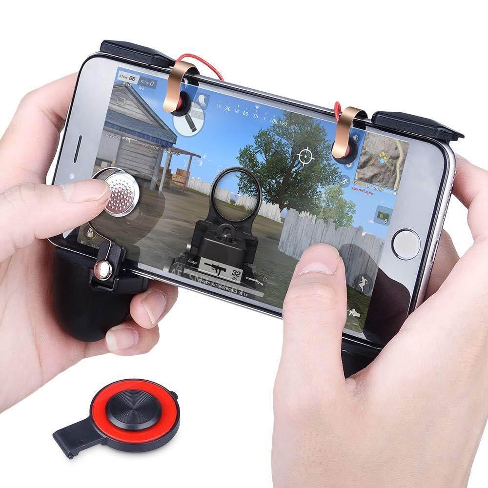 Mv Pubg Mobile Kontroler Game Pemicu Multi Gagang Serbaguna Grip Gamepad Sensitif Menembak Tujuan Joystick Untuk Pubg Untuk 4.5 6.5 Android Telepon Ios By The Bsw.