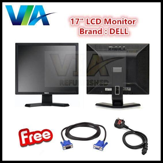 Refurb 17 LCD TFT Monitor PC Screen, 17 inch DELL Malaysia