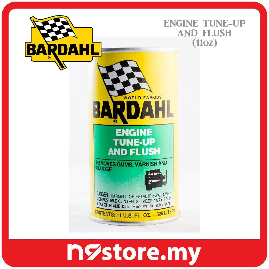 Bardahl Engine Tune Up & Flush Removes Gums, Varnish And Sludge (326ml)