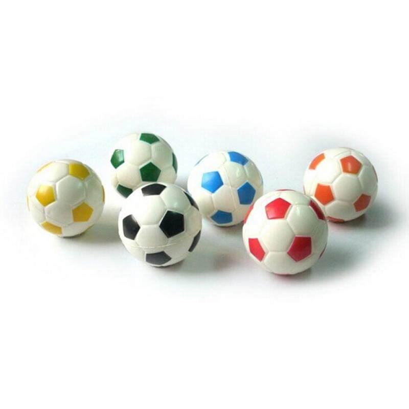 Soft Soccer Shaped Stress Ball Stress Relief Squeeze Foam Ball