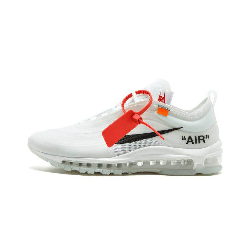 24a55e1d703c Nike Air Max 97 OG Off White AJ4585-100 Men s Sport Fashion Running Shoes  Sneakers