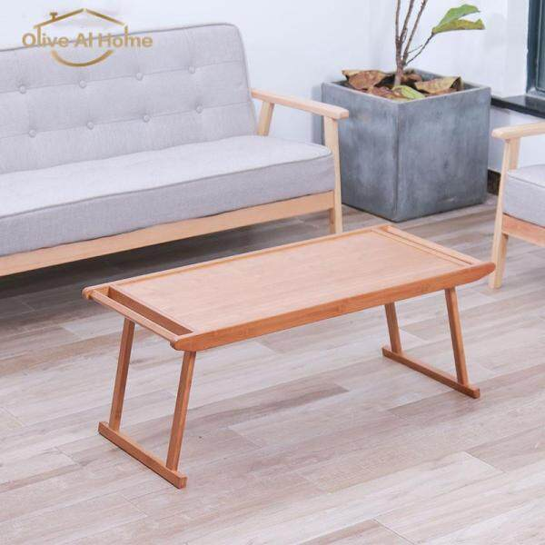 Olive Al Home Folding Table Made By Bamboo For Living Room