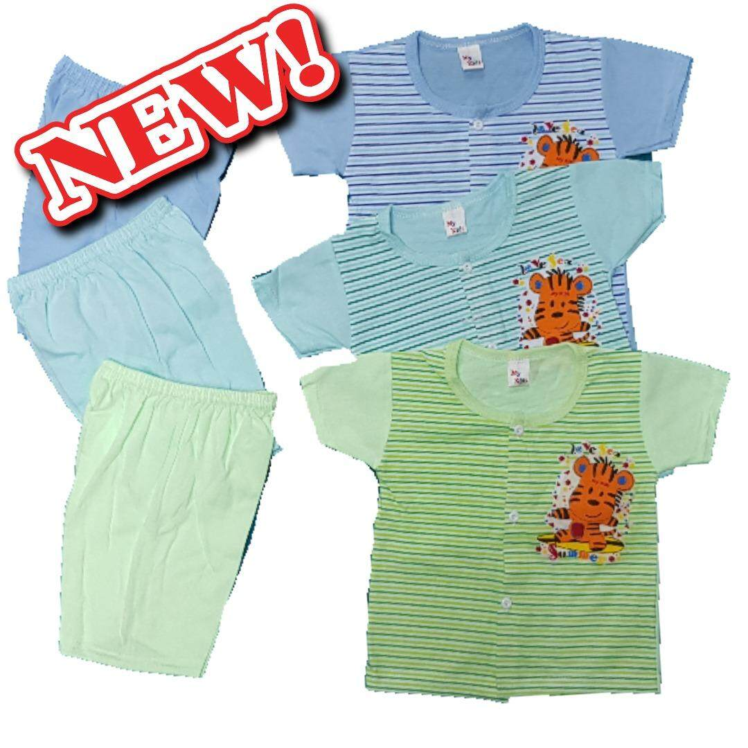 3 SET Newborn Baby Casual wear -010 (Fit to Age: 6-18Mth Mass:8-12kg Height:69-80CM)