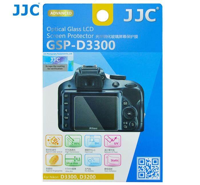 JJC GSP-D3300 Tempered Glass Camera Screen Protector For Nikon D3300 D3400 3200