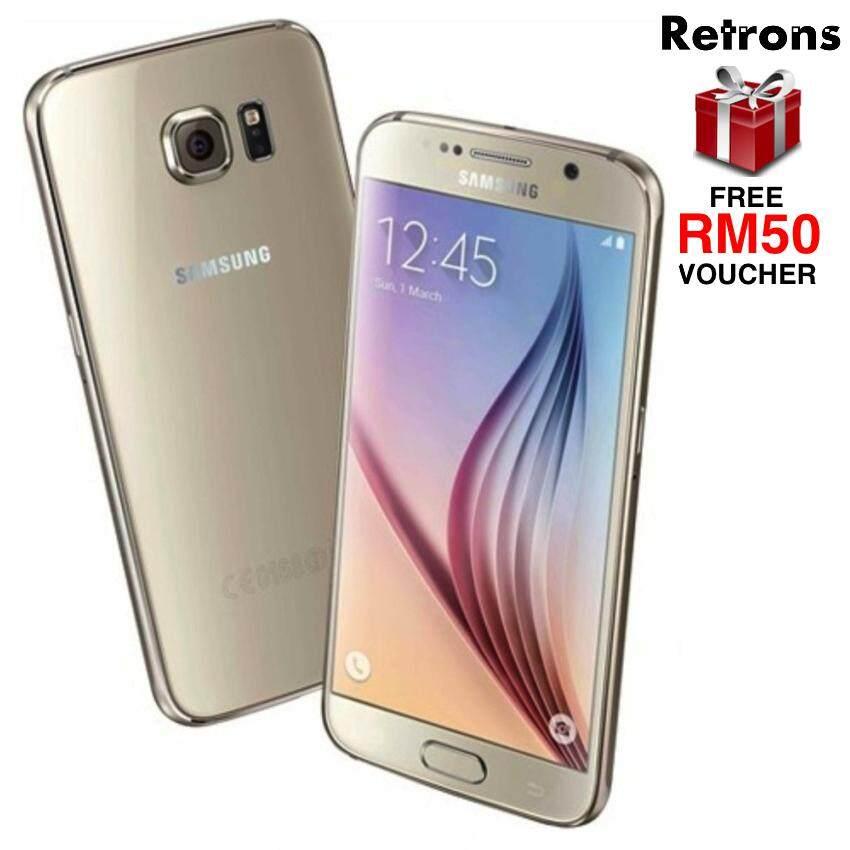 0e28046f0ad [Retrons Quality] Samsung Galaxy S6 4G 32GB G920 GOLD (Refurbished)