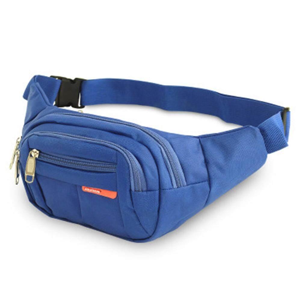 b78a07e4443 Belt Bag Sports Canvas Travel Phone Waist Pack Casual Men Women Outdoors  Pouch