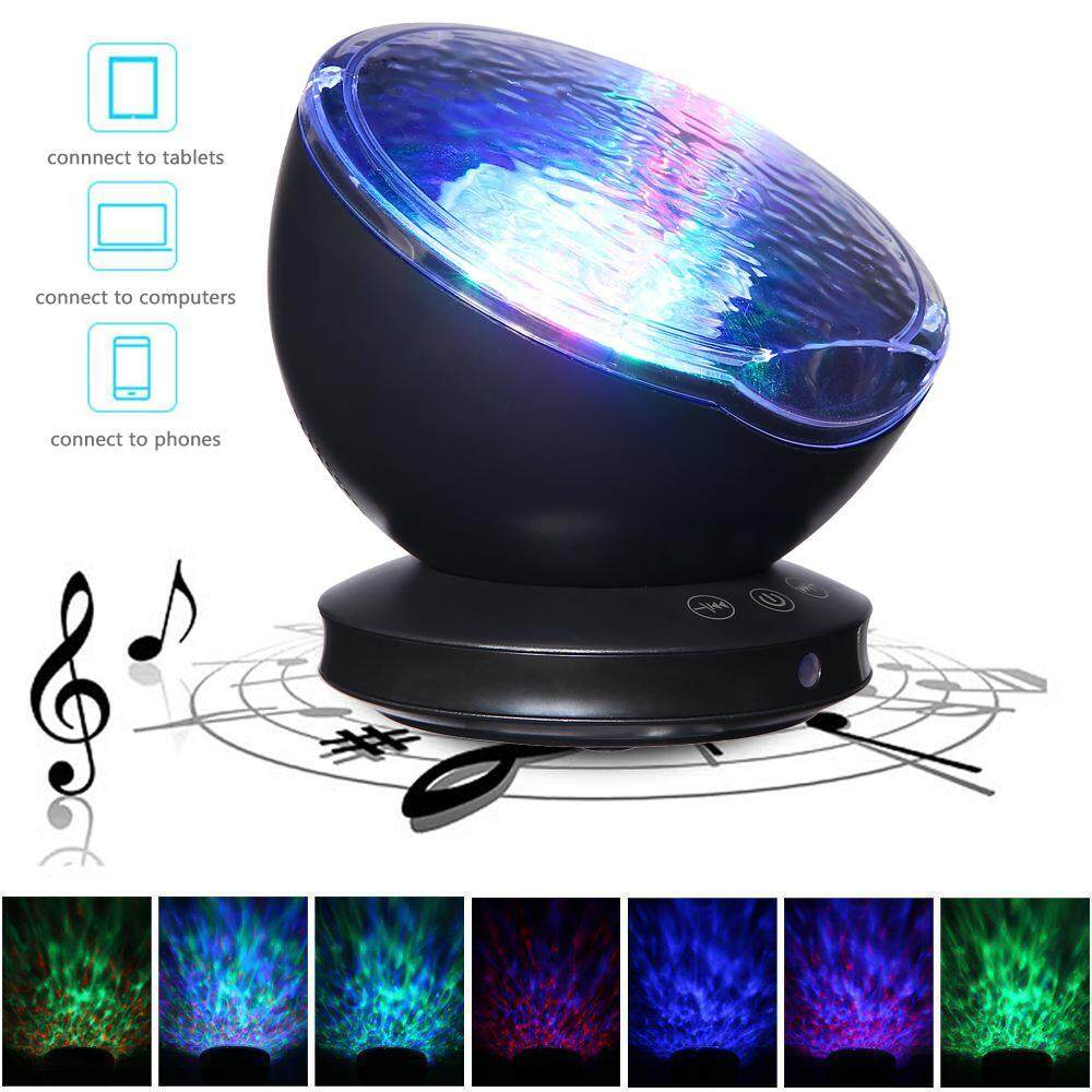 GoodGreat Multifunctional Sleepless Ocean Night Sky Music Projector With Music Player