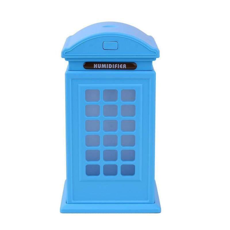 Bảng giá Creative Phone Booth LED Aroma Humidifier USB Powered Air Diffuser Purifier - intl