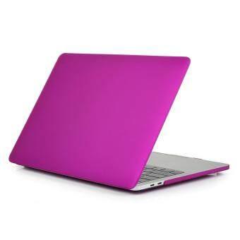 การส่งเสริม Matte Rubberized Hard Case Cover for Macbook ProLaptop Shell- Pro 13 inch (A1706@A1708)Purple red ซื้อที่ไหน - มีเพียง ฿935.00