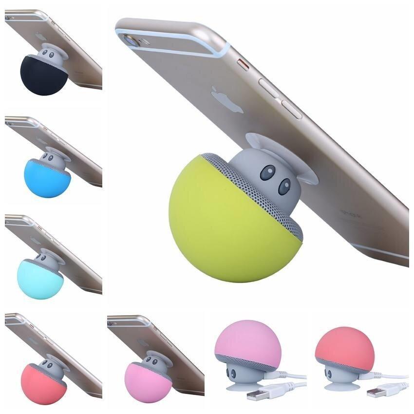 Mini Mushroom Portable Wireless Bluetooth Speaker Hand Free Call Mobil