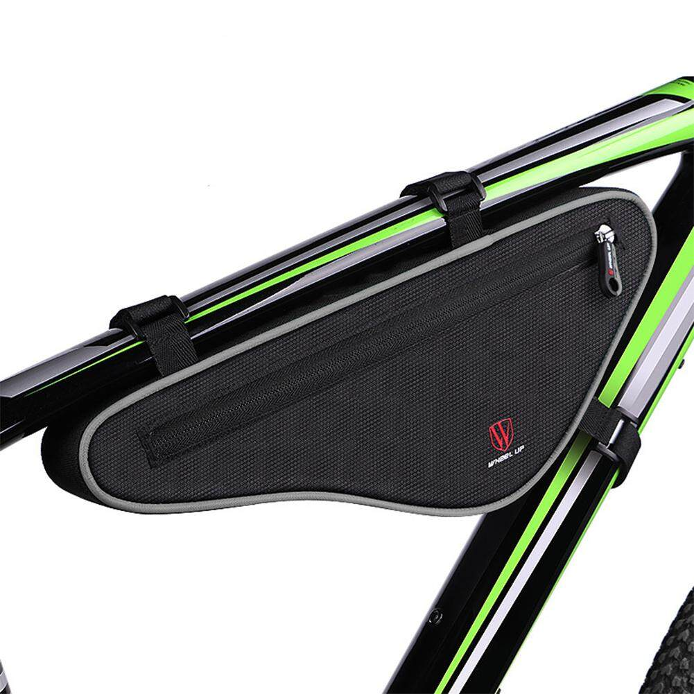 Buy Sell Cheapest Universal Large Bicycle Best Quality Product Horn Sound Klakson Sepeda Bike Cycling Reflective Capacity Crossbeam Triangle Bag Saddle Carrier Portable Pouch Package Lucky