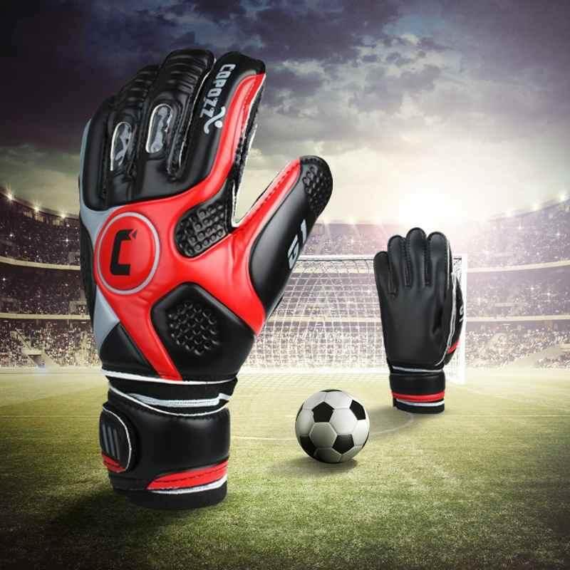 yiuu Professional Football Goalkeeper Gloves Finger Guardian Latex Goalie Gloves - intl