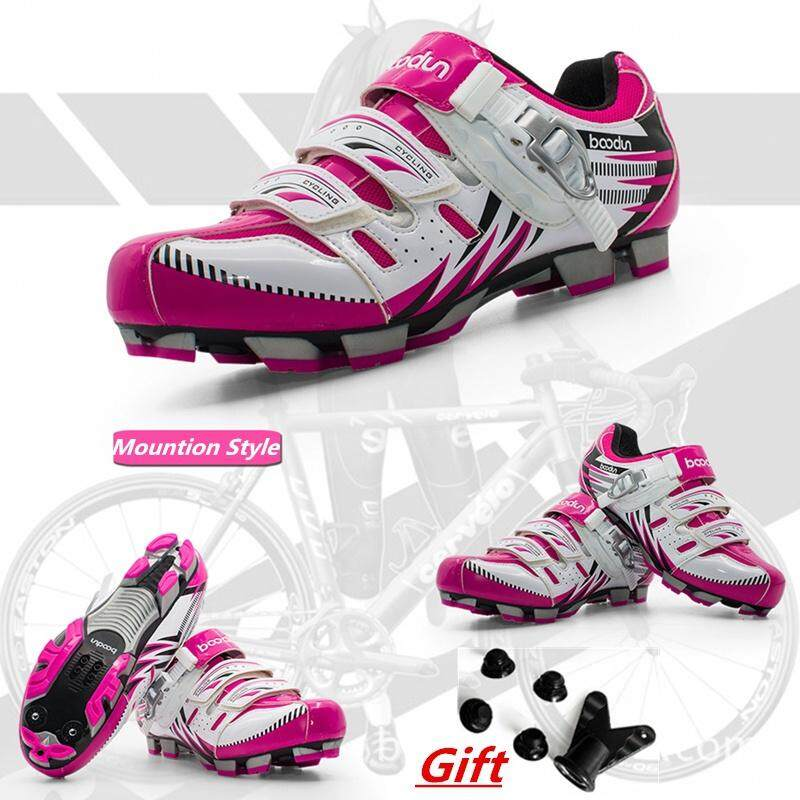 Fashion Women Mtb Bike Shoes Breathable Cycling Bicycle Athletic Mountain Sneakers Racing Pro Female - Intl By Fashion Is The Bus.