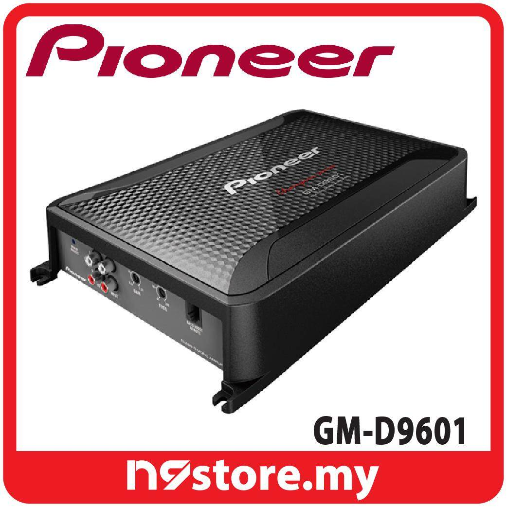 Pioneer GM-D9601 Class D Mono Amplifier Bass Boost