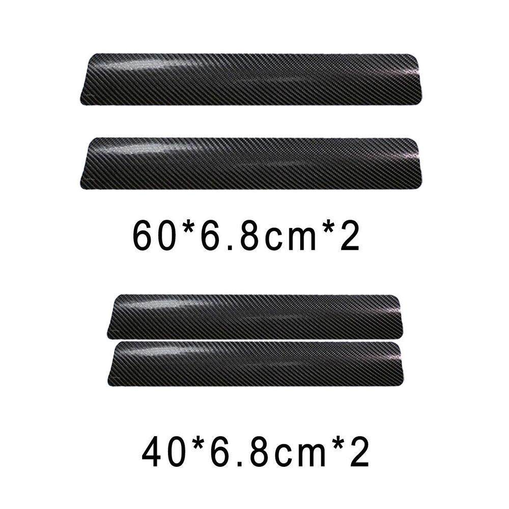Hide and cover minor scratches and small blemishes in your car door sill get the stylish carbon fiber look without spending the carbon fiber price