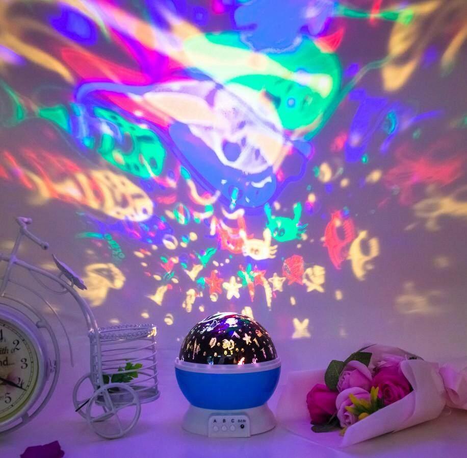 Rotating Projection Night Lamp(Deep Sea)
